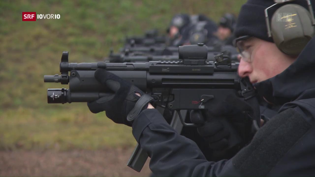 Sturmgewehre für Polizisten