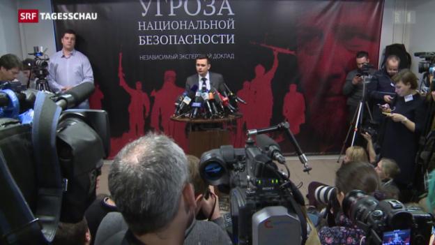 Video «Mord an Nemzow – Strippenzieher noch frei?» abspielen