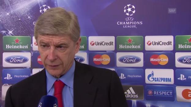 Video «Fussball: Interview mit Arsene Wenger («sportlive»)» abspielen
