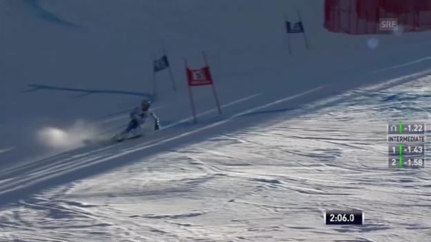 Video «Ski: RS Beaver Creek, 2. Lauf Ligety» abspielen