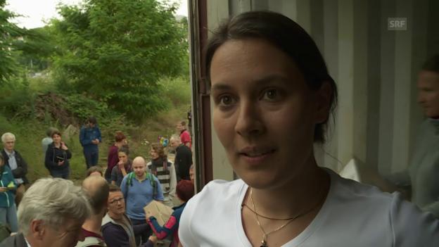 Video «Carole Nordmann profitierte ein Jahr lang vom Grundeinkommen» abspielen