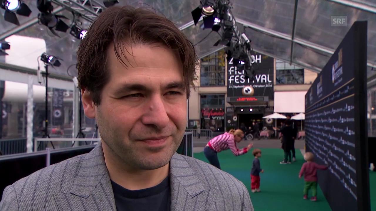 Karl Spoerri gibt einen Ausblick auf das Film Festival 2015
