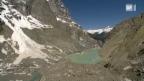 Video «Bedrohlicher Gletschersee» abspielen