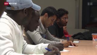 Video «FOKUS: Ernüchterung nach der Willkommenseuphorie» abspielen