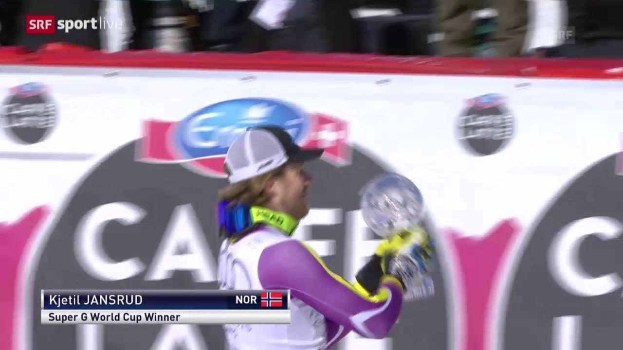 Ski Alpin: Weltcupfinale 2015, Super-G Männer