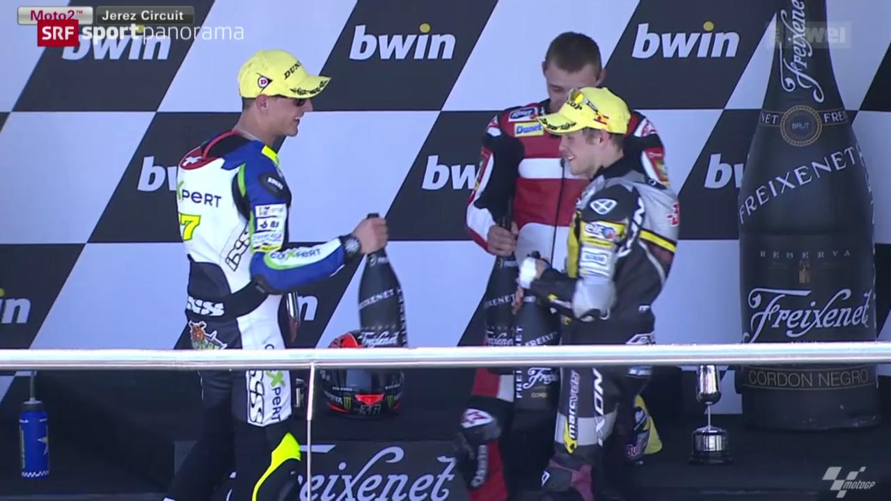 Motorrad: Moto2-GP Spanien in Jerez