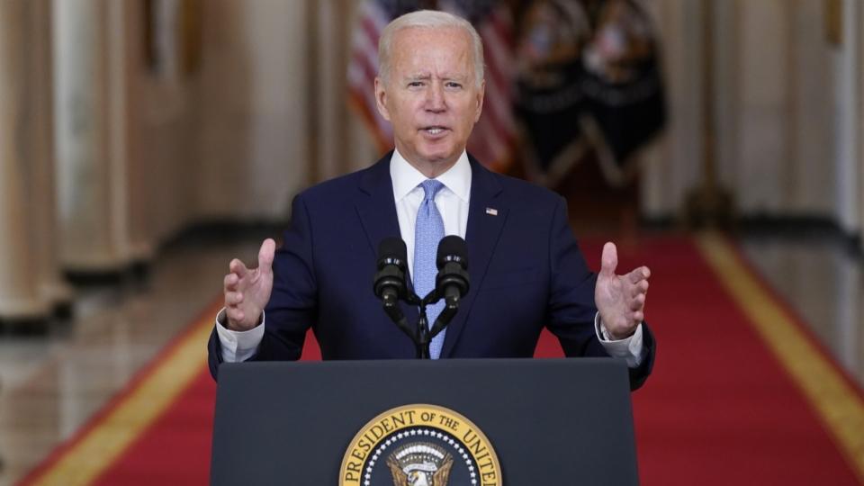 US-Präsident Biden äussert sich zum Ende des Truppenabzugs
