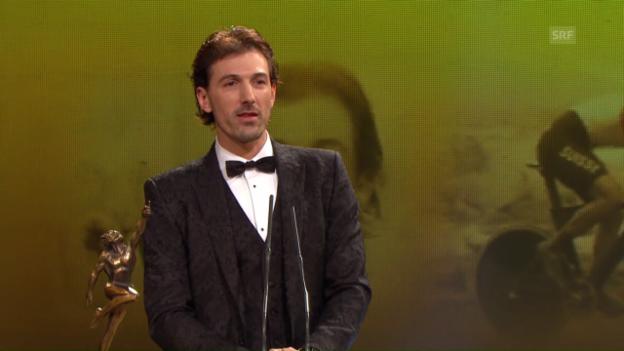 Video «Cancellara: «Diese Auszeichnung macht mich besonders stolz»» abspielen