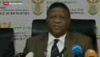 Video «Südafrika weist Bestechungsvorwurf zurück» abspielen