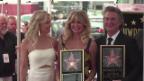 Video «Sterne für Goldie Hawn und Kurt Russell» abspielen