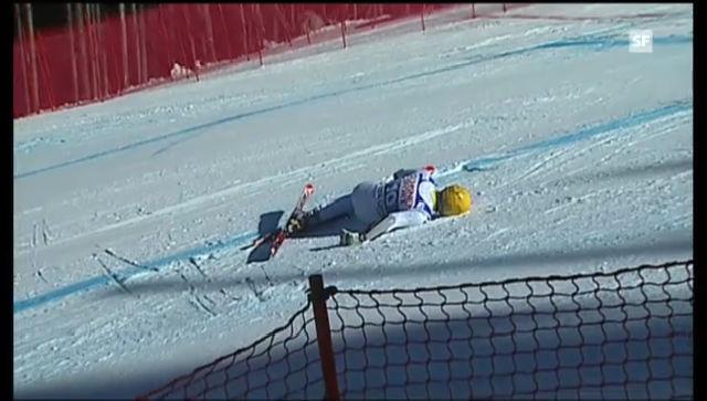 Ski alpin: Der Sturz von Max Franz («sportlive»)