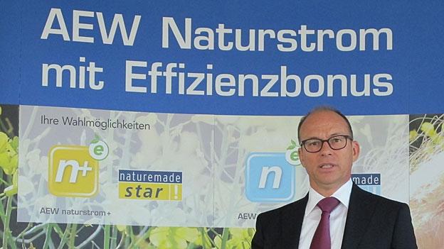 Interview mit Hubert Zimmermann, CEO der AEW Energie AG