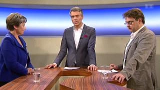 Video «Streitgespräch: R. Eichenberger - M. Kiener Nellen» abspielen