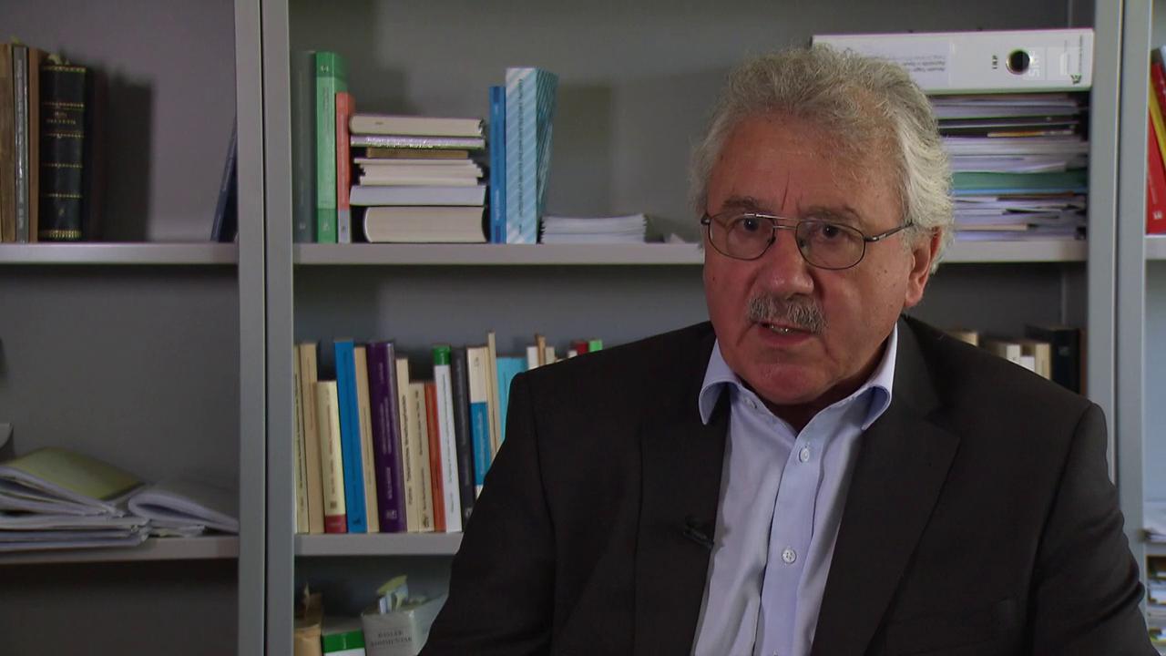 Rainer Schweizer: «Wir händigen Personen direkt der ausländischen Justiz aus»