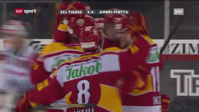 NLA: SCL Tigers - Ambri-Piotta