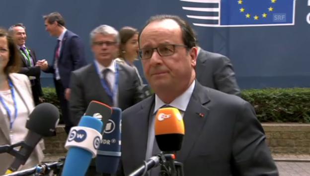 Video «Hollande: «Einigung ist möglich, Einigung ist nötig»» abspielen