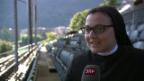 Video «Sister Cristina: Singende Nonne auf der Musicalbühne» abspielen