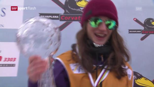 Video «Freude bei Gesamtsiegerin Hoefflin» abspielen