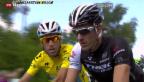 Video «Cancellara steigt bei der Tour de France aus» abspielen