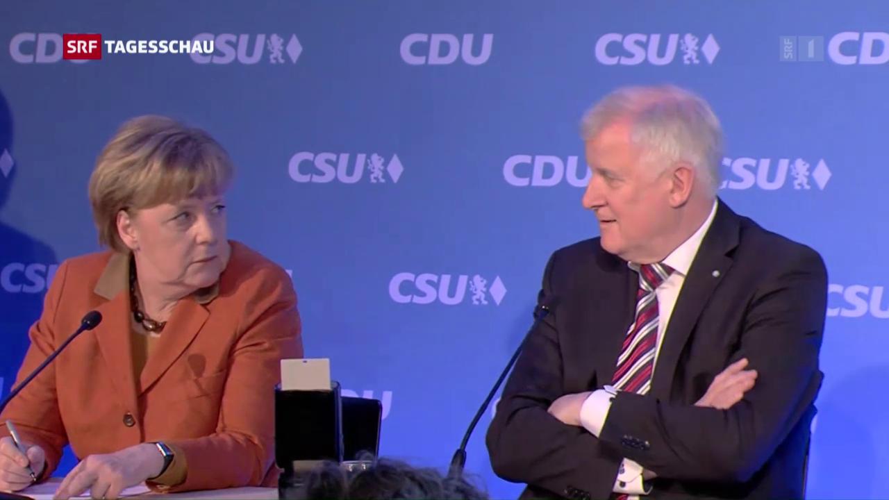 Versöhnung CDU und CSU
