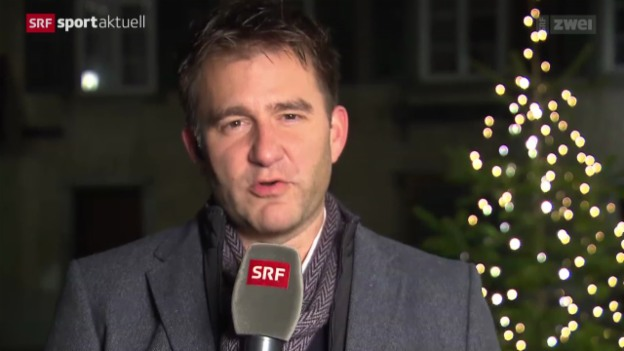 Video «Fussball: Gespräch mit SRF-Kommentator Sascha Ruefer» abspielen