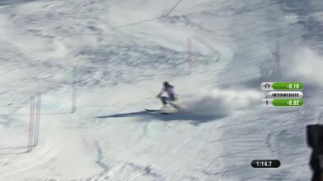 Video «Ski-WM Vail/Beaver Creek, Slalom, 2. Lauf Holdener» abspielen