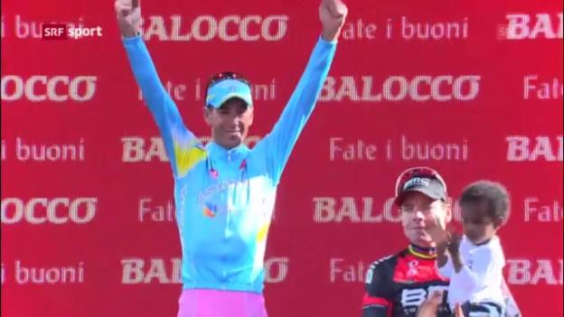 Video «Nibali gewinnt Giro 2013» abspielen
