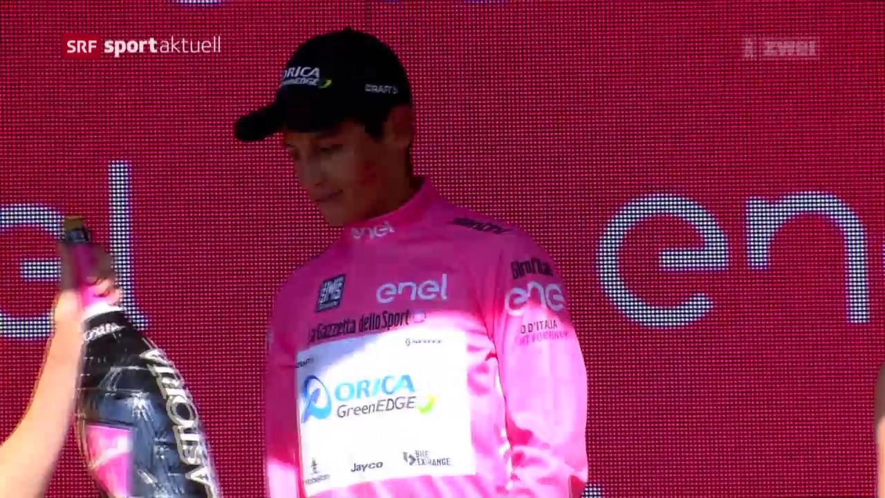Leaderwechsel beim Giro