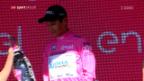 Video «Leaderwechsel beim Giro» abspielen