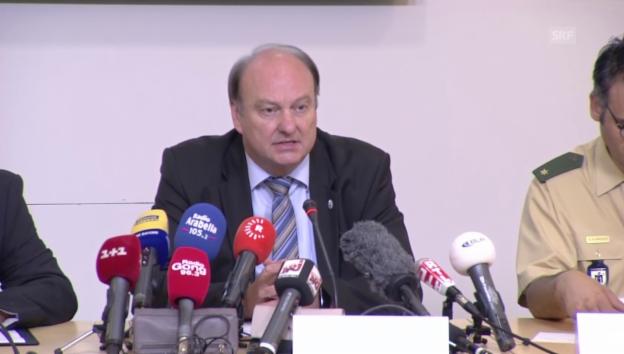 Video «Münchner Polizeipräsident Andrae: Kein Terror-Hintergrund» abspielen