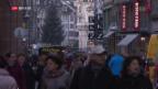 Video «FOKUS: Schwierige Zeiten im Detailhandel» abspielen