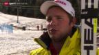 Video «Ski: Abfahrtstraining von Beat Feuz» abspielen
