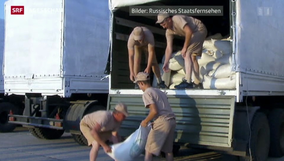 Kiew: Russische Hilfstransporte unerwünscht
