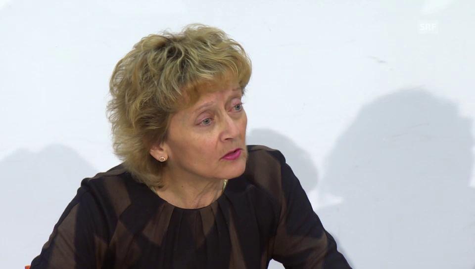 Eveline Widmer-Schlumpf zum SNB-Entscheid