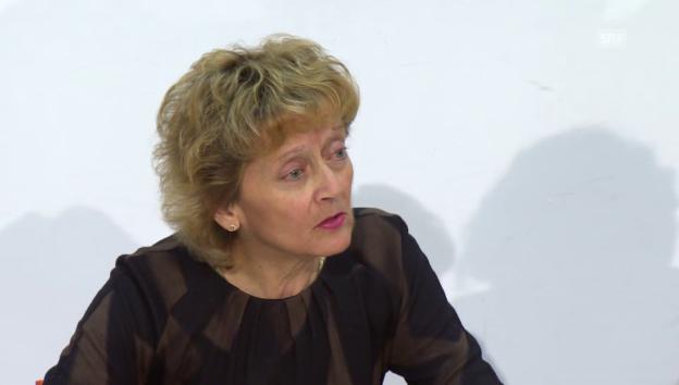 Video «Eveline Widmer-Schlumpf zum SNB-Entscheid» abspielen