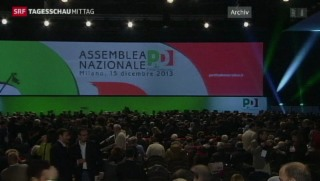 Video «Enrico Letta lehnt Rücktritt ab» abspielen