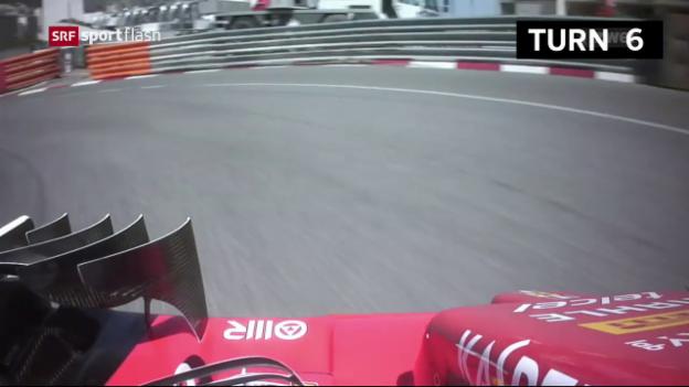 Video «Vettel im 1. Training überlegen» abspielen