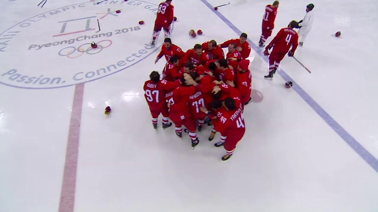 Team Russland gewinnt spektakulären Olympia-Final