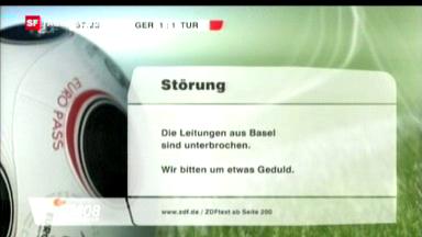 2008: Stromausfall an der Fussball-EM