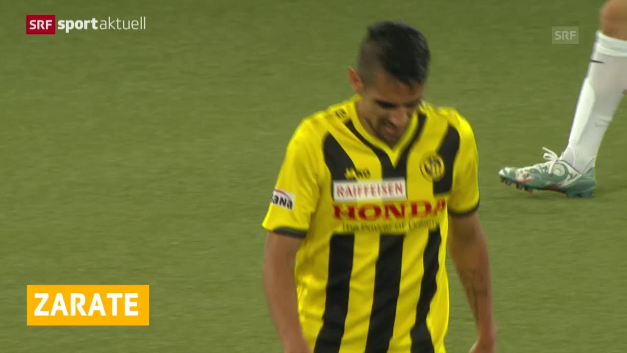 Fussball: Zarate wechselt zum FC Thun