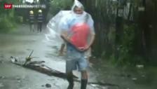 Video «Taifun zwingt Tausende zur Flucht» abspielen