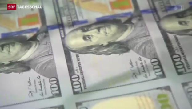 Video «US-Zentralbank wird 100 jährig» abspielen