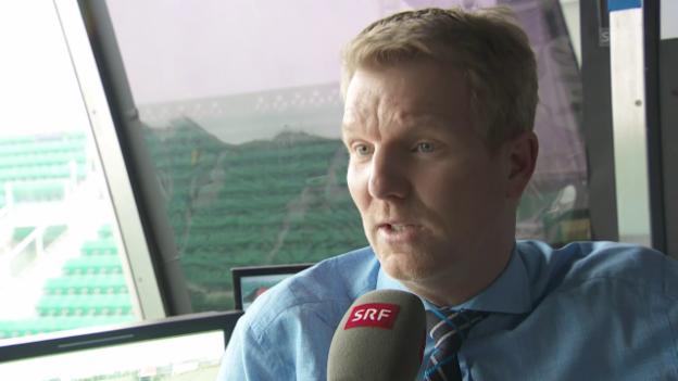 Video «Tennis-Experte Jim Courier: «Stan kann alle ärgern»» abspielen