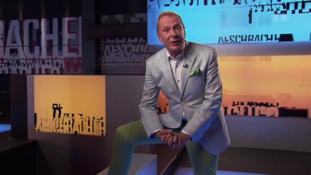 Video «Aeschbacher Reprise: Aeschbacher wie aus dem Ei gepellt» abspielen