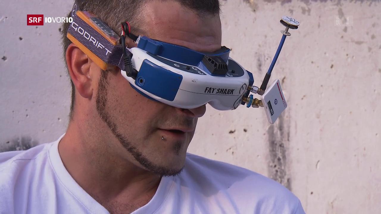 Rasende Drohnen