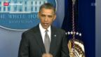 Video «Präsident Obama spricht von einem Terrorakt» abspielen
