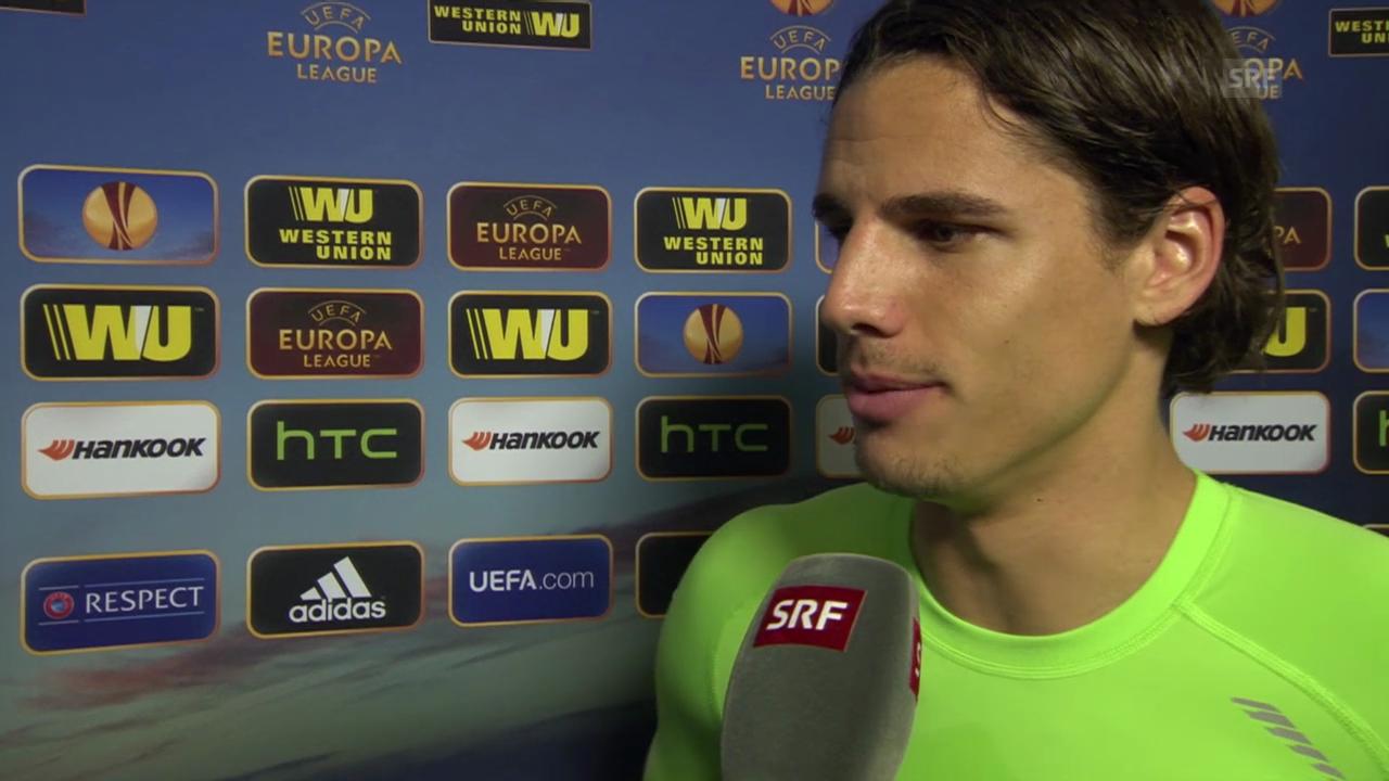 Fussball: Interview mit Yann Sommer («sportlive», 13.3.14)