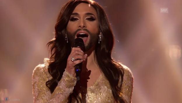 Video «Österreich – Conchita Wurst mit «Rise Like A Phoenix»» abspielen