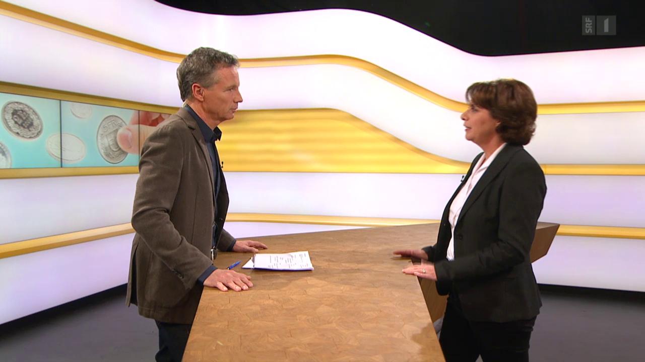 Studiogespräch mit Martina Ziegerer, Geschäftsleiterin Zewo