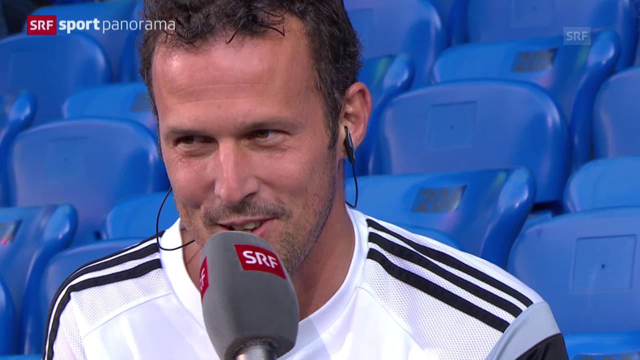 Fussball: Super League, Gespräch mit FCB-Captain Marco Streller